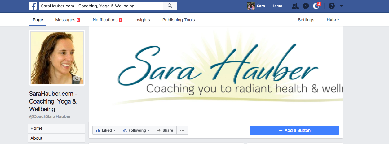 Like Sara Hauber's Facebook Page